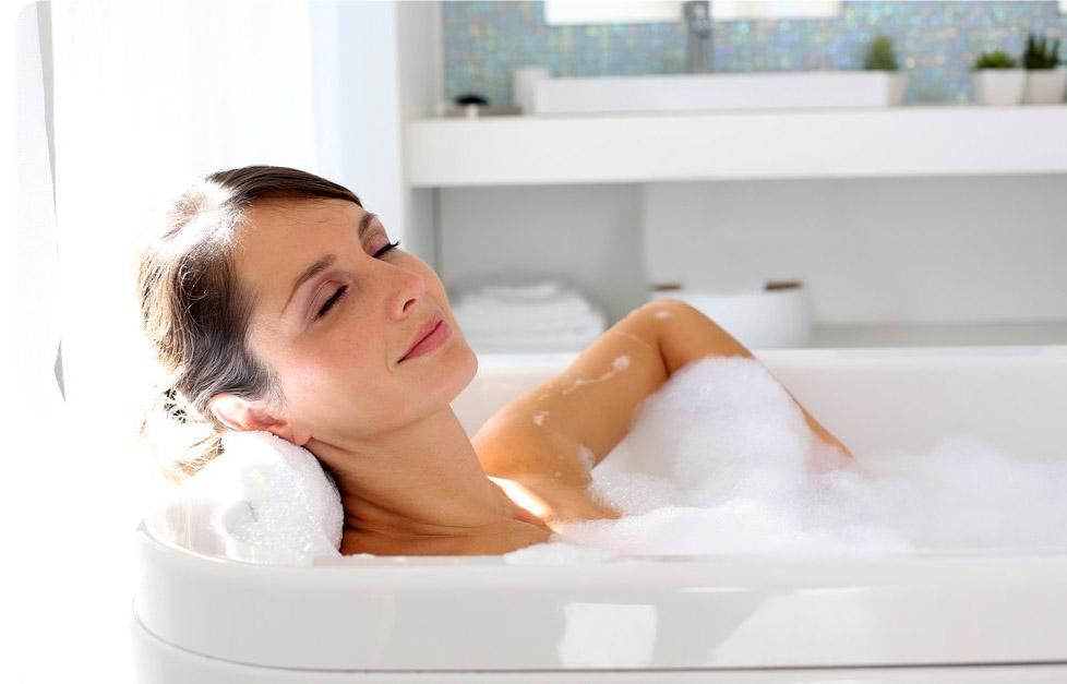Расслабляющая ванна при борьбе со страхами